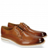 Derby Schuhe Eddy 8 Tan Aspen White