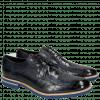 Derby Schuhe Eddy 8 Crock Navy Crip Blue