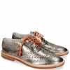 Oxford Schuhe Monica 4 Glitter Gunmetal