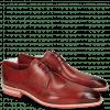 Derby Schuhe Lance 24 Red Lasercut Crown