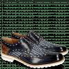 Derby Schuhe Eddy 27 Navy Denim Lines