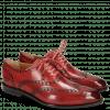 Oxford Schuhe Jacob 1 Washed Ruby