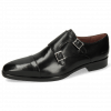 Monk Schuhe Lance 1 Black Lining Purple Flex Black