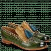 Loafers Selina 3 Ultra Green Textile Bambino Olivine Tassel