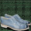 Derby Schuhe Amelie 2 Vegas Perfo Sky Blue