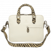 Handtaschen Vancouver Vegas White Hairon Zebra