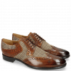 Derby Schuhe Clint 19 Wood Textile English Hairon Halftone