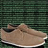 Sneakers Florian 1 Nubuk Perfo Dark Taupe