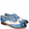 Oxford Schuhe Amelie 10 Vegas Neptune Blue White Moroccan Blue