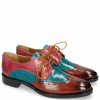 Derby Schuhe Betty 3 Rust Abyss Bubblegum