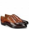 Oxford Schuhe Lance 44 Mogano Wood Tan