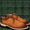 Derby Schuhe Ryan 3 Suede Pattini Orange Shade Mogano