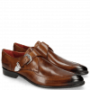 Monk Schuhe Toni 24 Wood Toe & Gunmetal