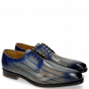 Derby Schuhe Kylian 4 Clear Water Lines Electric Blue