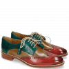 Derby Schuhe Betty 3 Fiesta Cashmere Onda