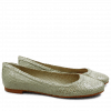 Ballerinas Kate 5 Woven Sweet Green LS Natural