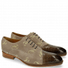 Oxford Schuhe Ricky 9 Crock Suede Smoke Gold