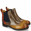 Stiefeletten Amelie 5 Ocra Marble Winter Orange Ultra Green RS