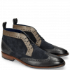 Stiefeletten Victor 7 Rio London Fog Stone Suede Mr Touch Navy
