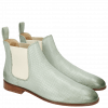 Stiefeletten Susan 10 Salerno Perfo Sweet Green Elastic Off White