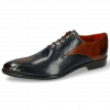 Oxford Schuhe Toni 31 Wood Navy Lining