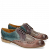 Derby Schuhe Xenia 2 Pale Rose Oxygen Pale Lila Clear Water