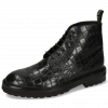 Stiefeletten Matthew 7 Rio Reptile Black Loop Nylon
