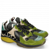 Sneakers Kobe 1 Suede Pattini New Grass Pine Verde Chiaro Nappa Black Hairon Giraffe