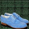 Derby Schuhe Sally 53 Parma Suede Green Blue