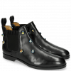 Stiefeletten Susan 10 Black Resin Bubbles Multi Elastic Fly