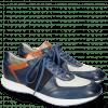 Sneakers Blair 13 Vegas Navy Glove Nappa Deep Kumquat Lycra