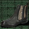Stiefeletten Lexi 2 Pisa Black Croco Hairon Stripes