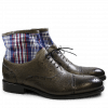Stiefeletten Patrick 4 Scotch Grain Textile Grey Check HRS