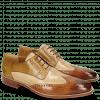 Derby Schuhe Jeff 14 Tan Nude Cashmere Nougat Olivine