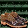 Derby Schuhe Brad 7 Woven Multi 7 Textile Pixel Orange