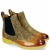 Stiefeletten Amelie 5 Hairon Yellow Dark Finishing Halftone