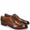 Derby Schuhe Jessy 6 Wood HRS Brown