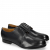 Derby Schuhe Sally 1 Navy HRS Black