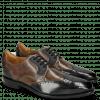 Derby Schuhe Dave 2 London Fog Milano Grey Stone
