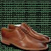 Derby Schuhe Alex 1 Venice Haina Tan Tex