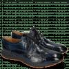 Derby Schuhe Blair 2 Turtle Navy RS Orange