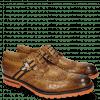 Derby Schuhe Eddy 25 Crock Fango Strap Brown Orange