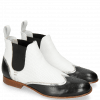 Stiefeletten Sally 19 Nappa Glove Black Cromia Nickel Nappa Perfo White
