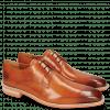 Derby Schuhe Lance 24 E-Orange Lasercut Crown