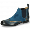 Stiefeletten Sally 19 Ice Lake Nappa Aztek Bronze Sheep Suede Turquoise