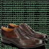 Oxford Schuhe Keira 10 Lizzard Mid Brown Python Brown