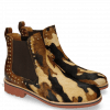 Stiefeletten Amelie 12 Hairon Camo Wood Back Rivets