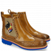 Stiefeletten Amelie 47 Crock Perfo Cashmere Embrodery Rooster