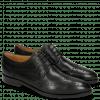 Derby Schuhe Jessy 6 Black Lining Rich Tan