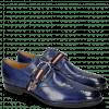 Derby Schuhe Clint 2 Midnight Blue Buckle